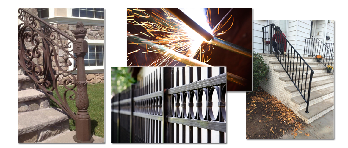Examples of the aluminum railings we provide in the Staten Island, NY, area
